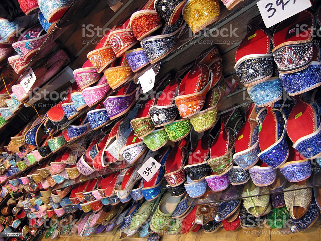 Indian Shoes royalty-free stock photo
