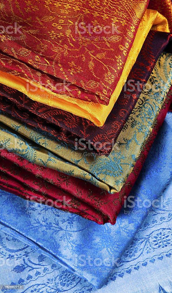 indian silk royalty-free stock photo