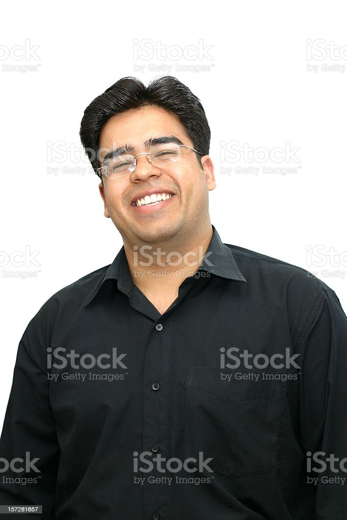 Indian - smiling. stock photo