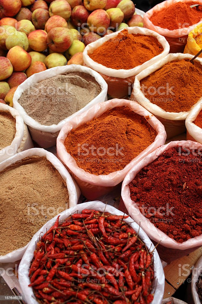 Indian Spices royalty-free stock photo