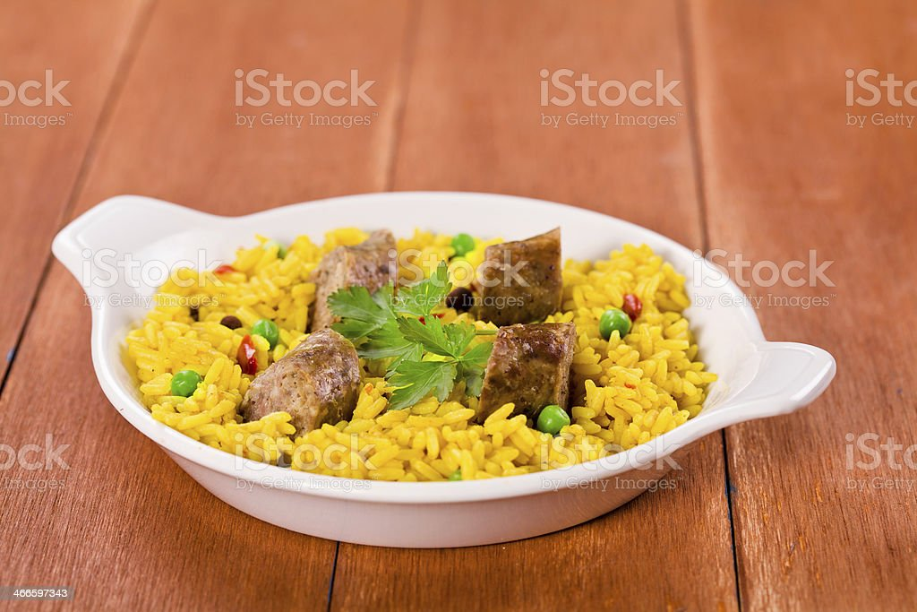 Indian Spicy Meal stock photo
