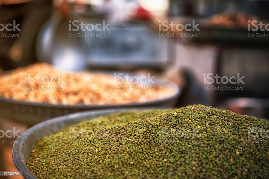 Indian Street Food. stock photo