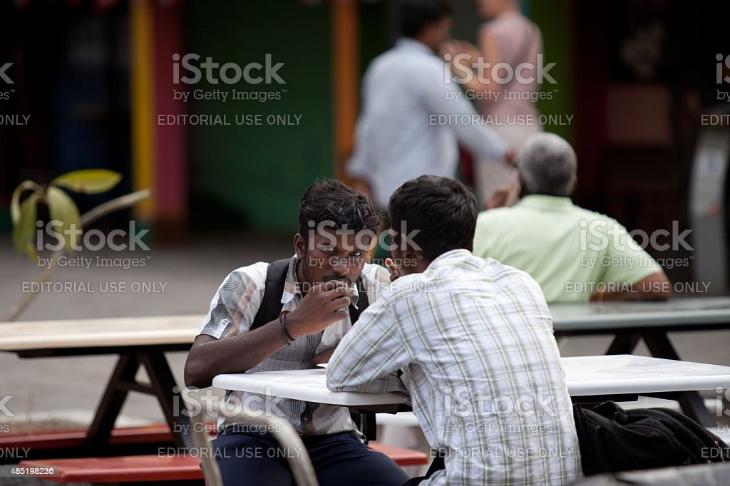 Indian student stock photo