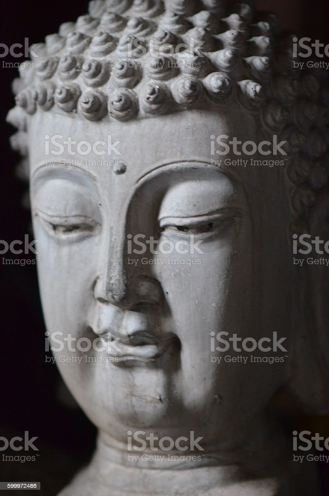 Indian style Buddha Statue stock photo