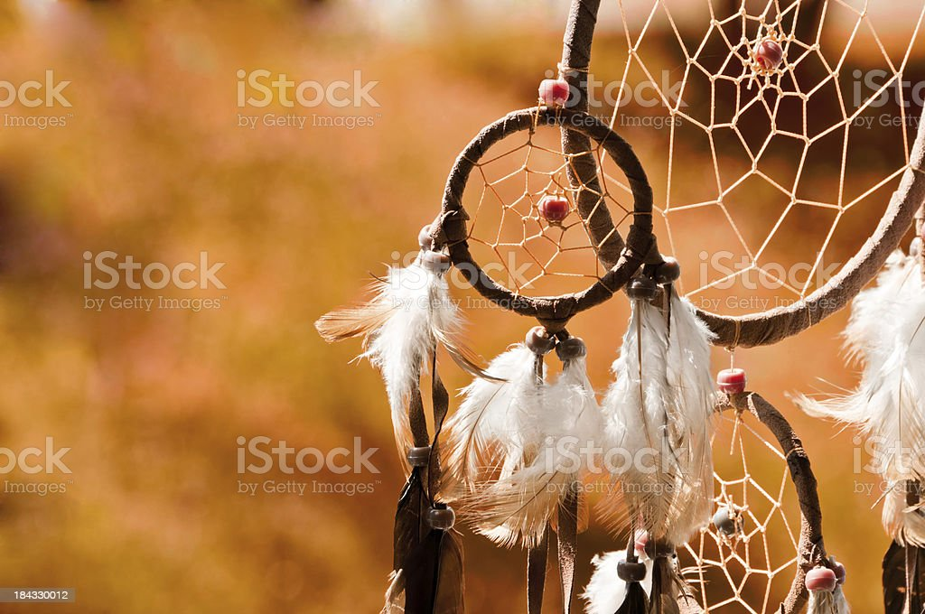Indian Summer - dreamcatcher royalty-free stock photo
