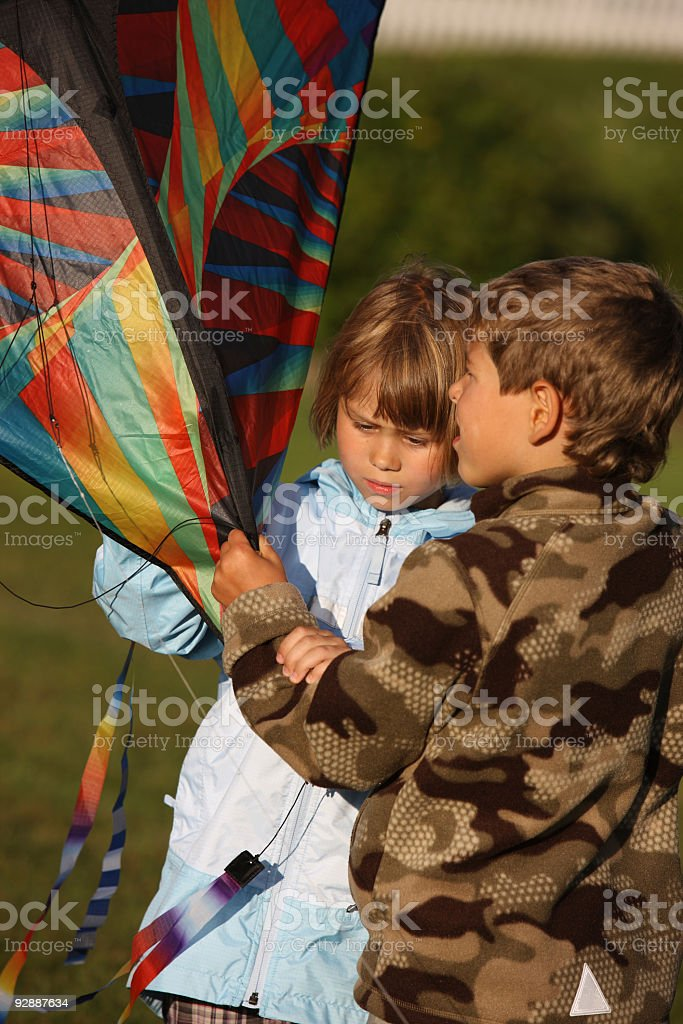 Indian summer games stock photo