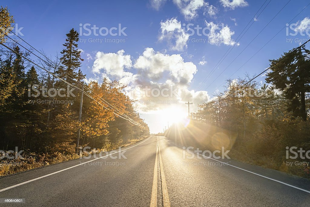 Indian Summer in Canada royalty-free stock photo