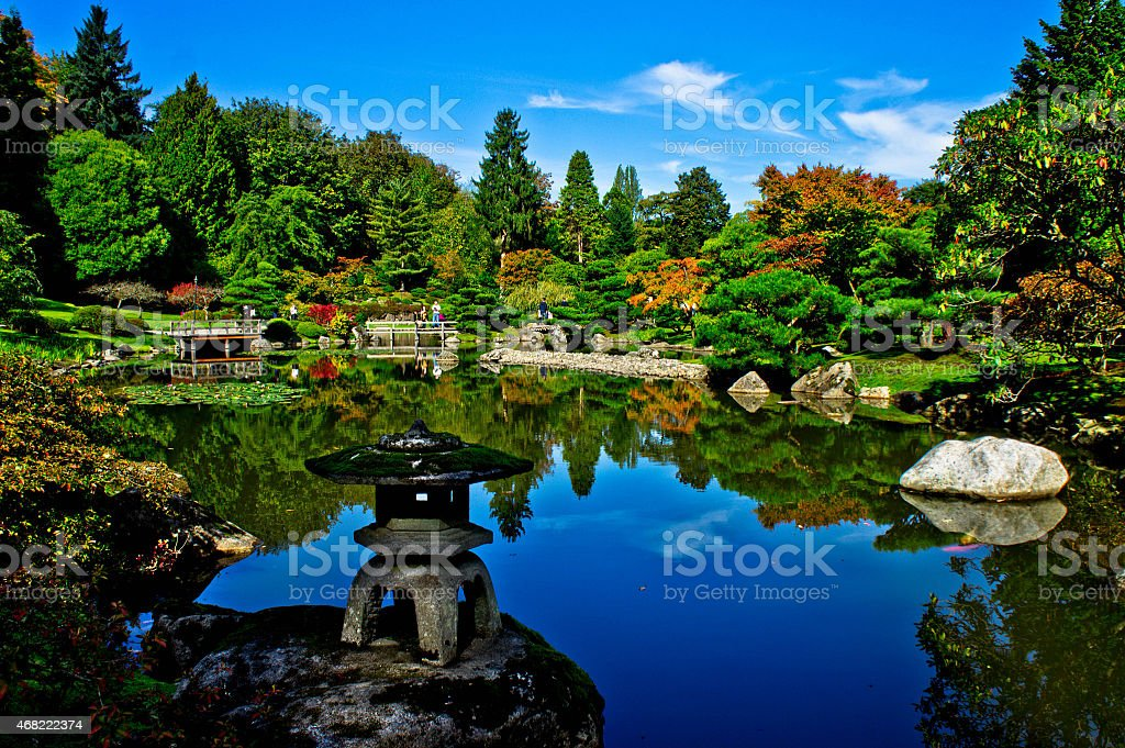 Indian Summer stock photo