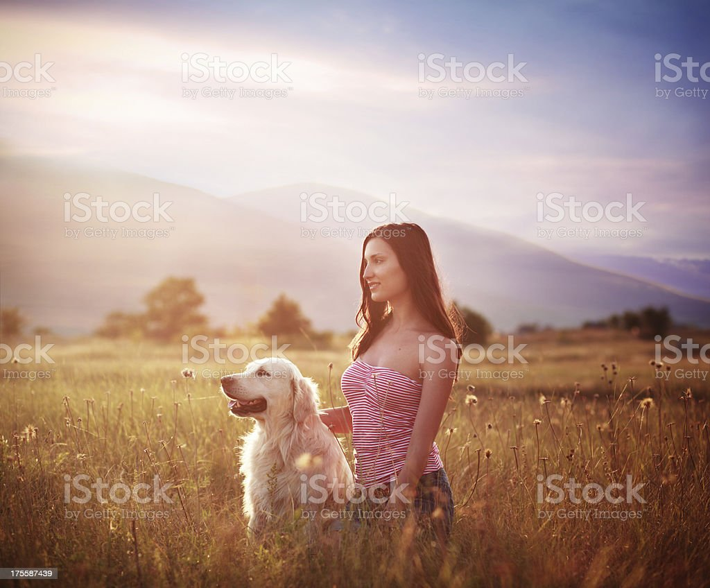 Indian summer portrait royalty-free stock photo