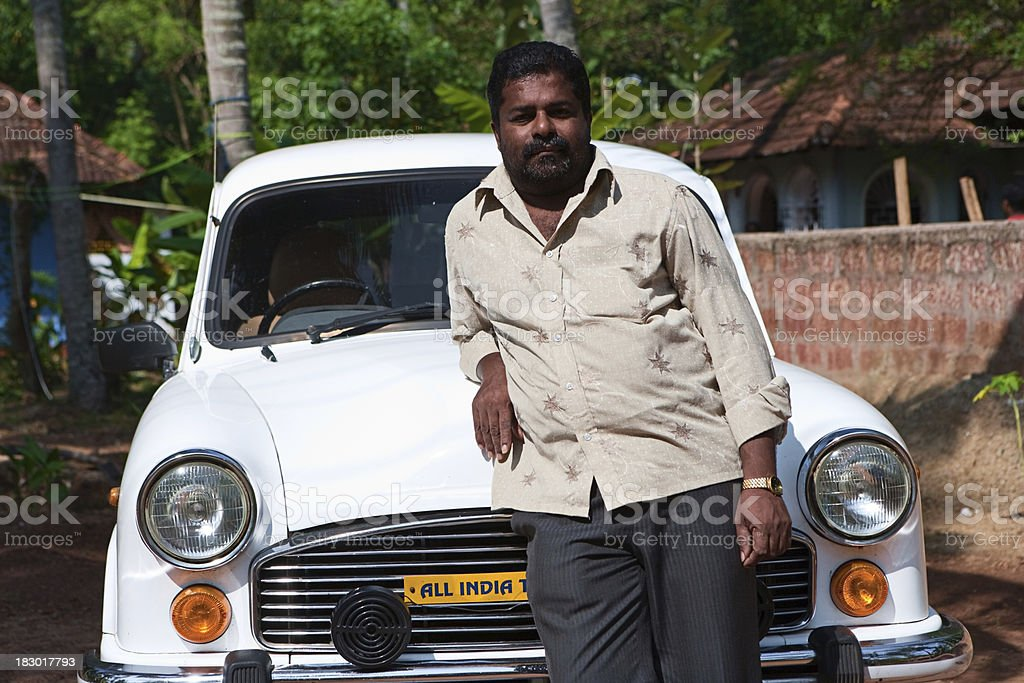 Indian taxi royalty-free stock photo