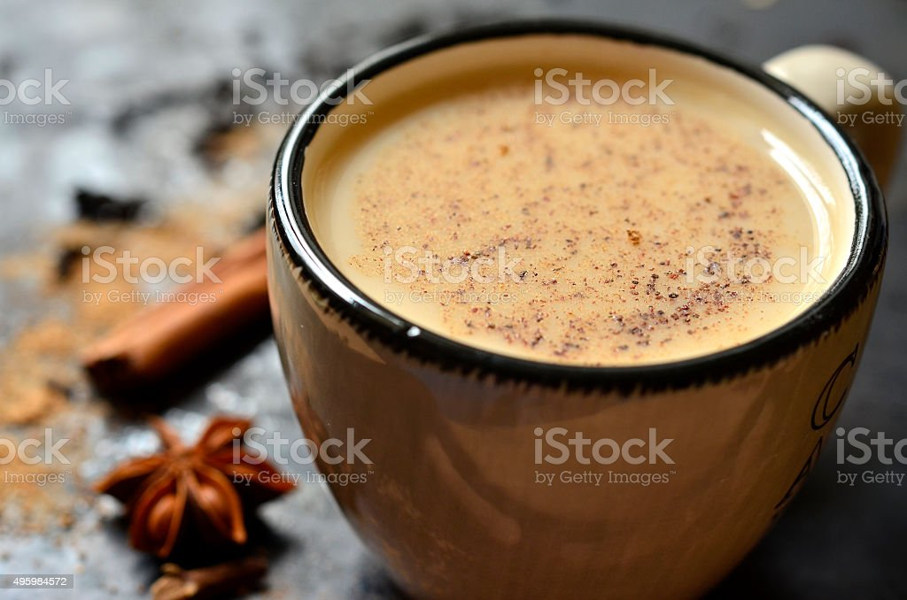 Indian tea masala. stock photo