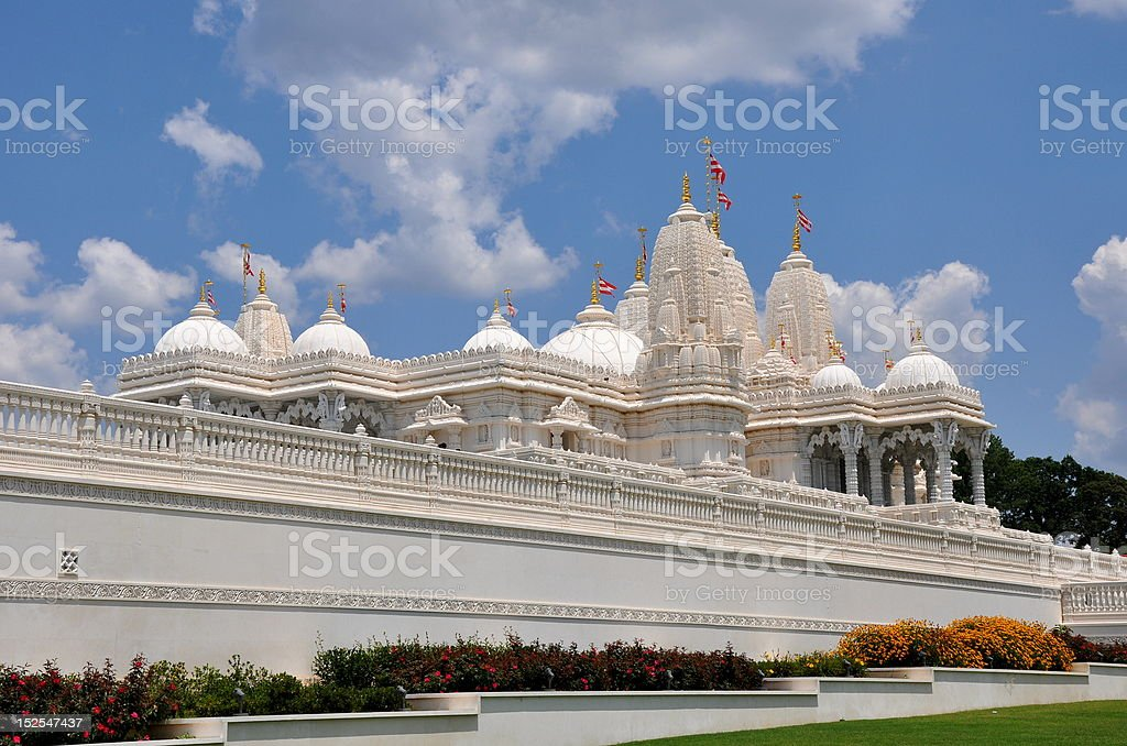 Indian Temple. royalty-free stock photo