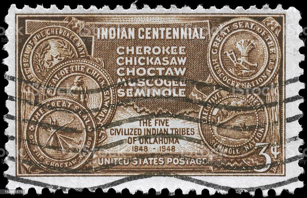 Indian Territory stock photo