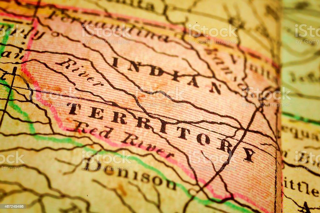 Indian Territory, United States stock photo