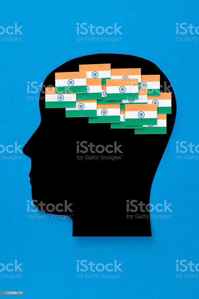 Indian thoughts royalty-free stock photo