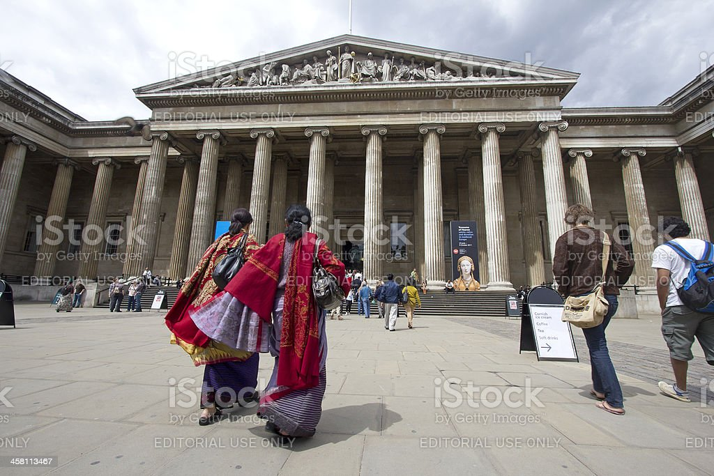 Indian Tourists in London royalty-free stock photo