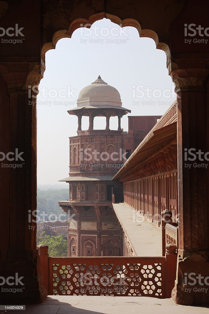 indian traditional architecture royalty-free stock photo