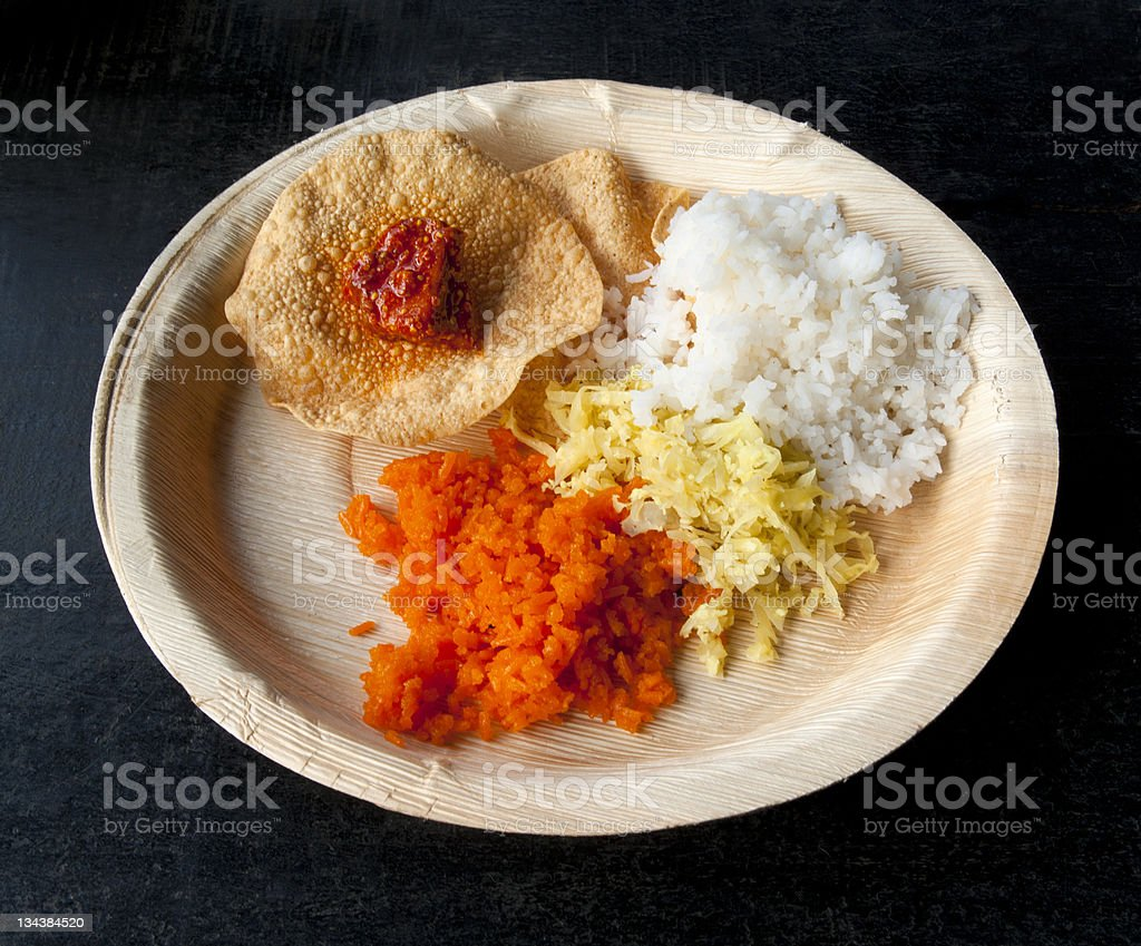 Indian traditional food royalty-free stock photo