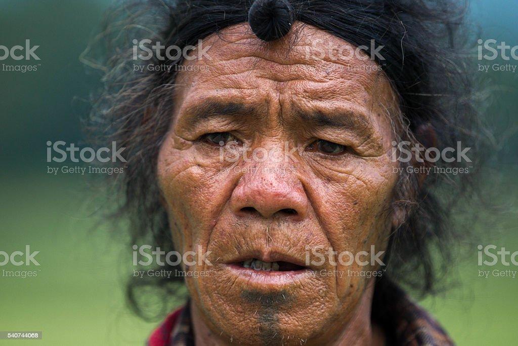 Indian Tribal men- India. stock photo