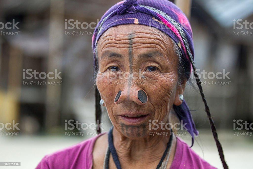 Indian Tribal women- India. stock photo