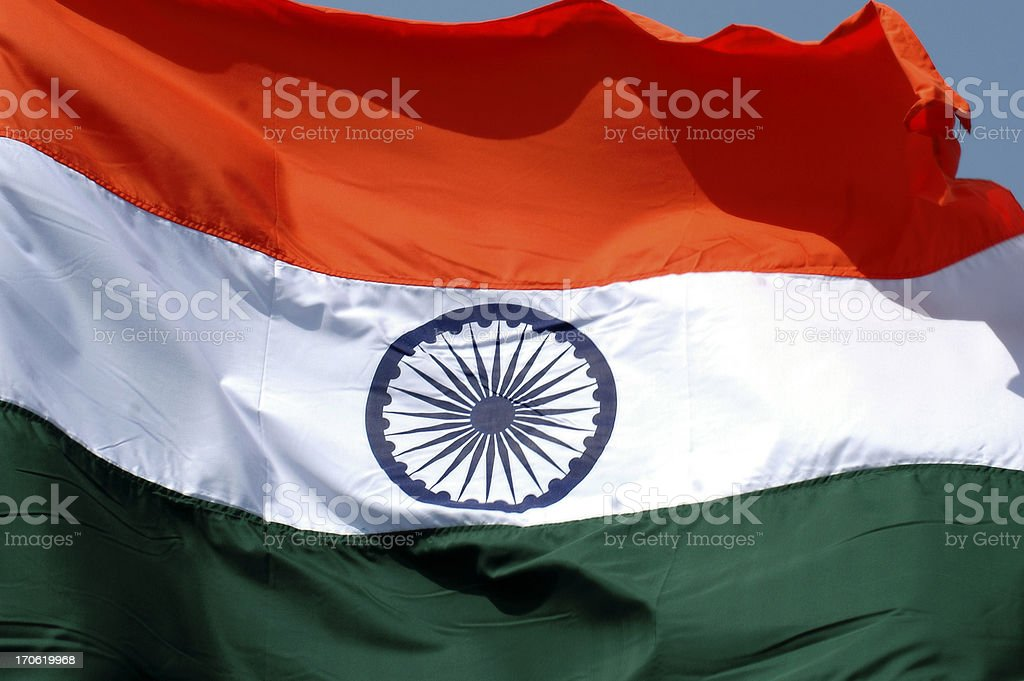 Indian Tricolor ! royalty-free stock photo