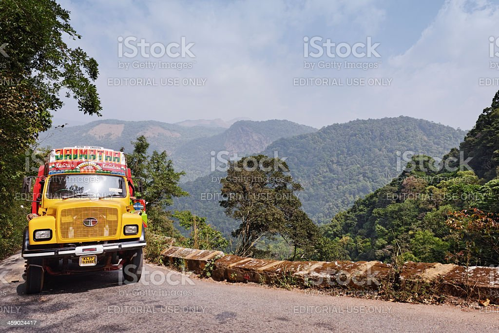Indian truck royalty-free stock photo
