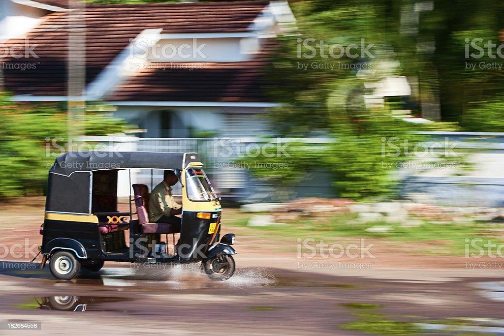 Indian tuktuk - rickshaw stock photo