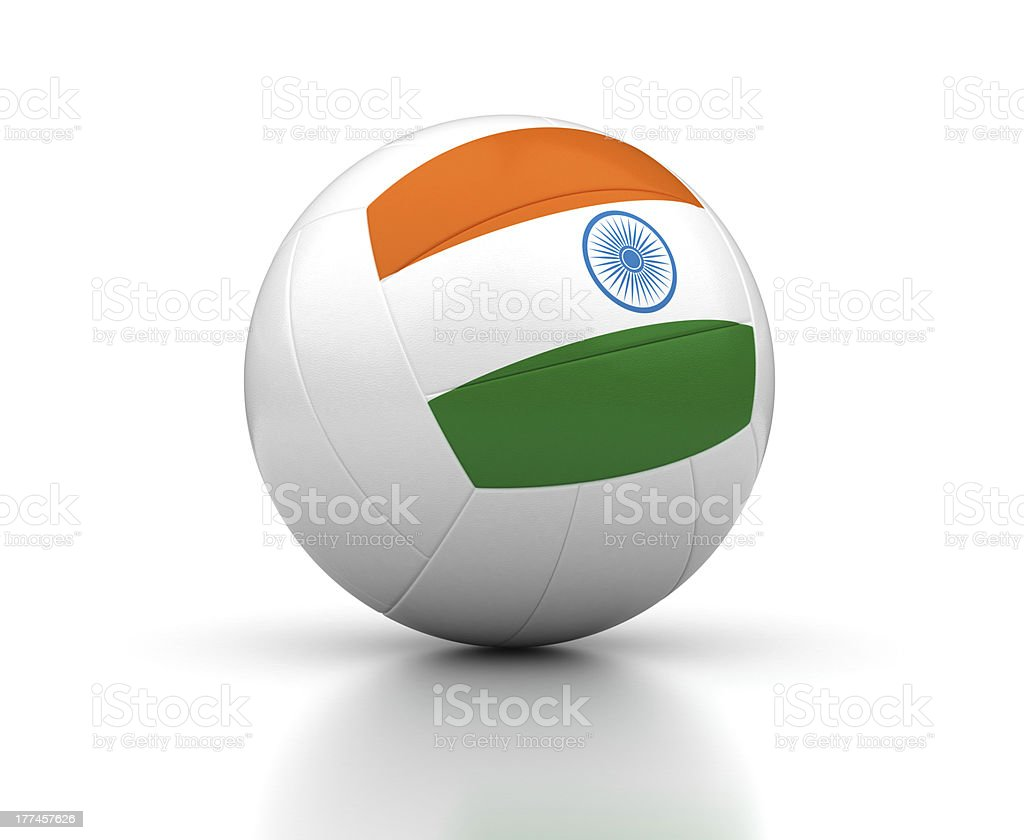 Indian Volleyball Team royalty-free stock photo