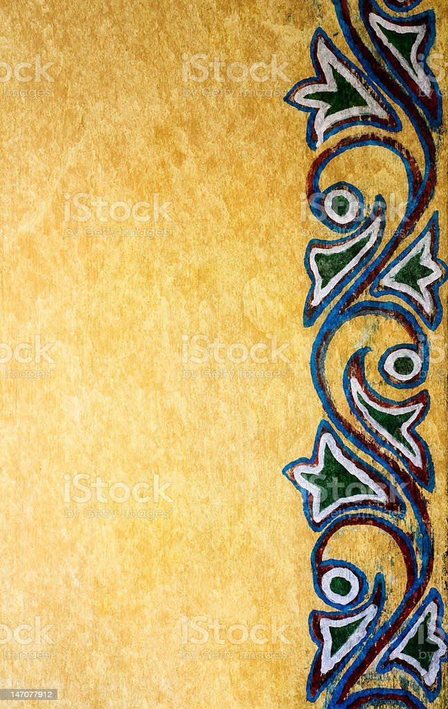 Indian Wall royalty-free stock photo