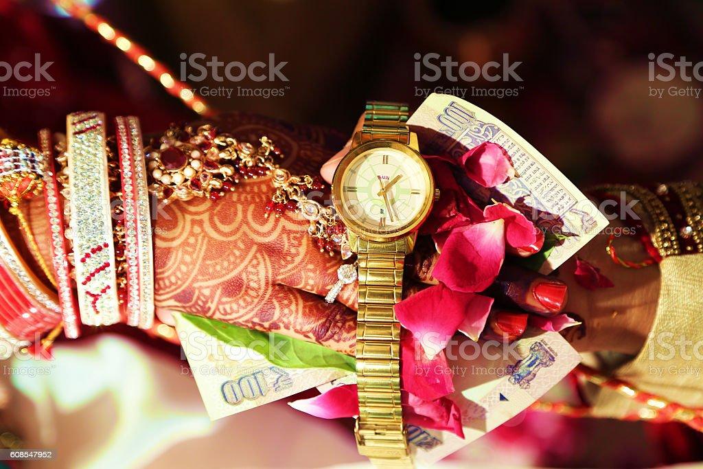 Indian Wedding Ceremony, Indian Marriage stock photo