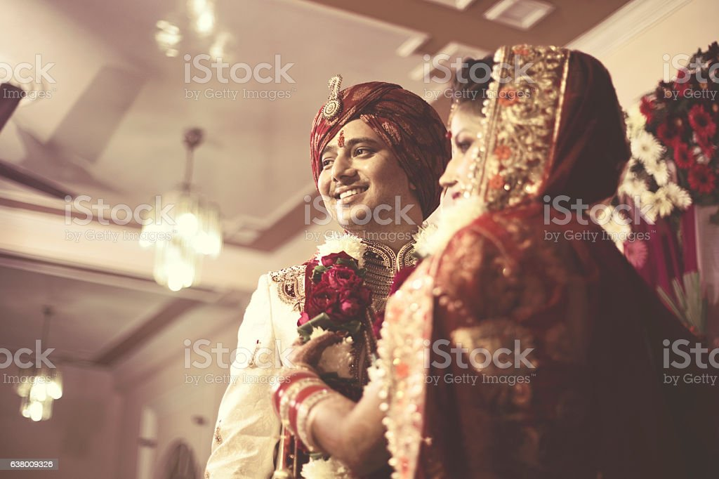Indian wedding ceremony stock photo