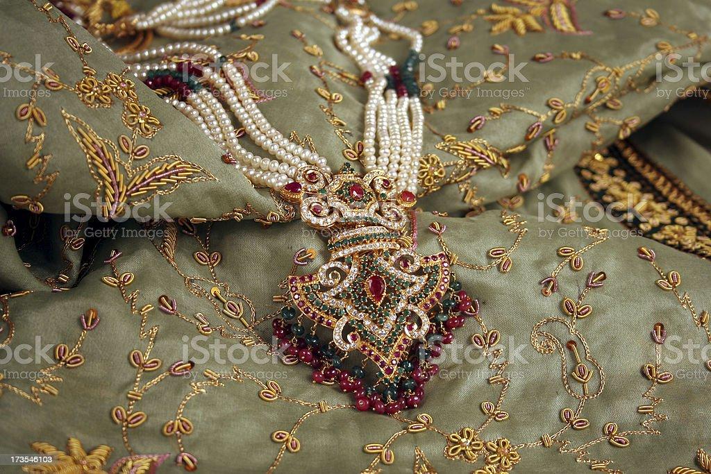 Indian wedding gear stock photo