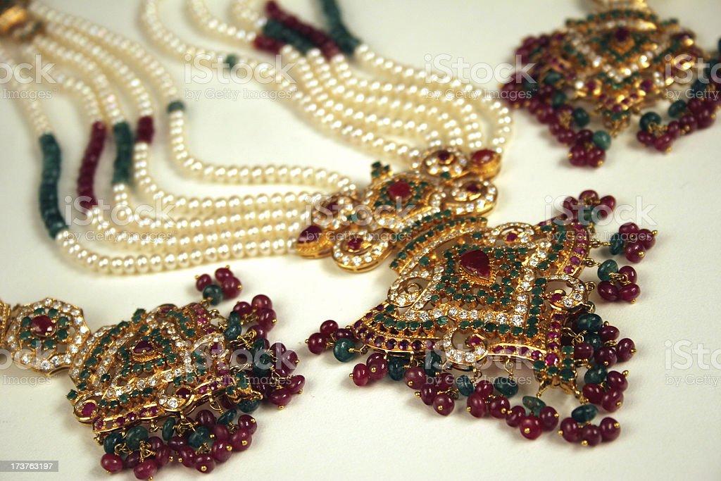 Indian Wedding Jewellery stock photo