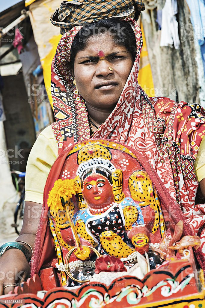 Indian woman royalty-free stock photo