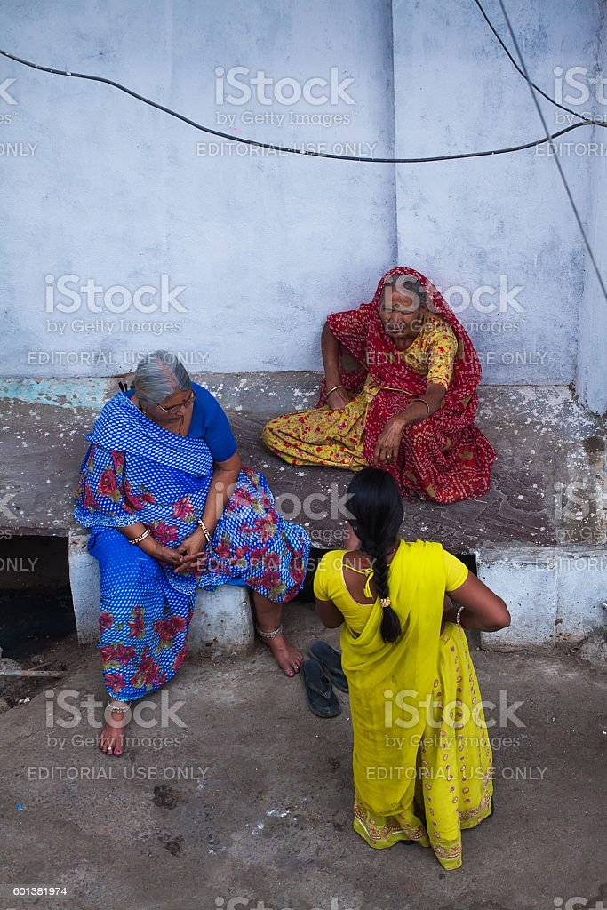 Indian Womans stock photo