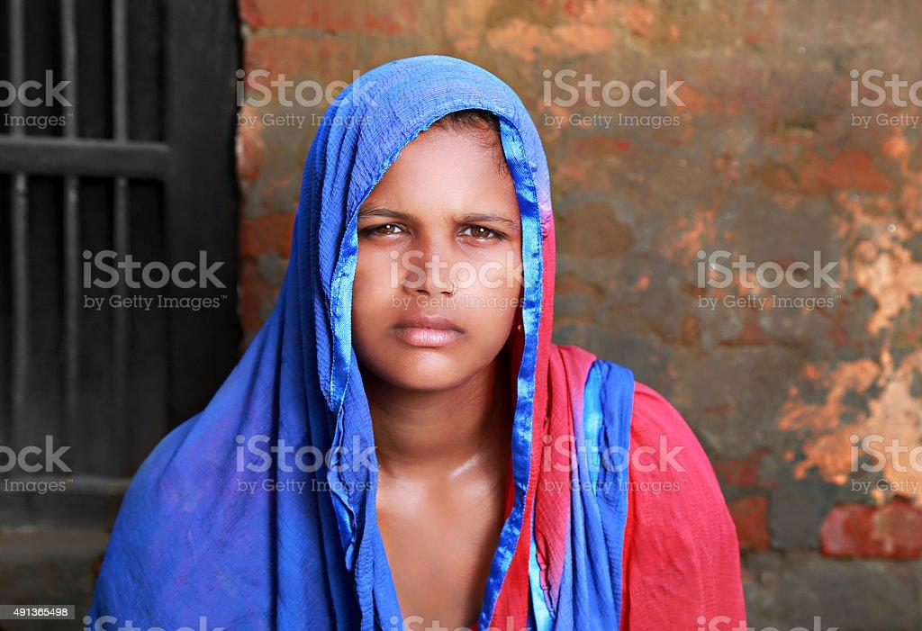 Indian Women Portrait stock photo