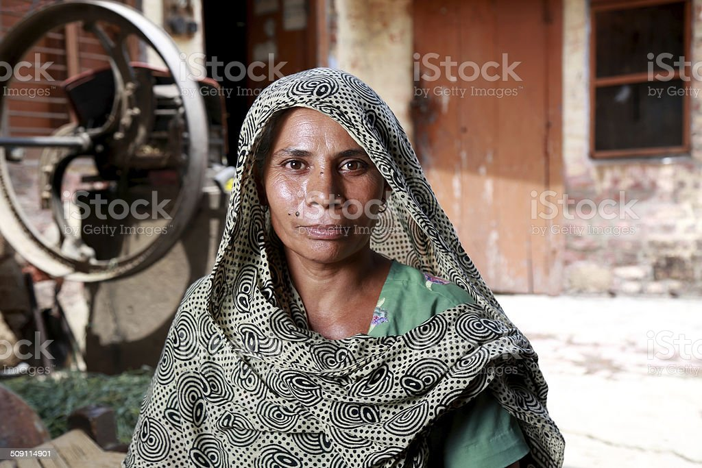 Indian Women Portrait stock photo