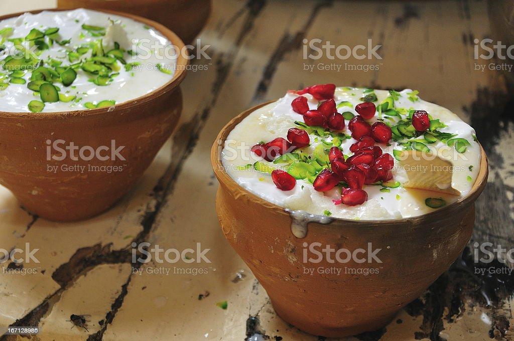 Indian yogrut drink Lassi royalty-free stock photo