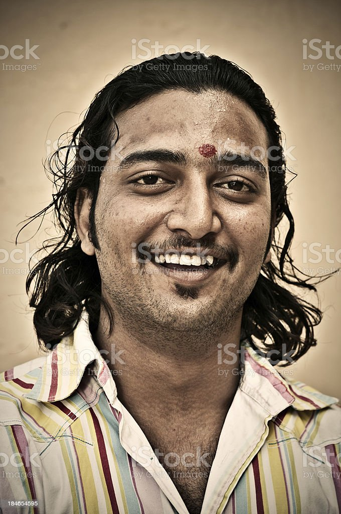 Indian Young Man royalty-free stock photo