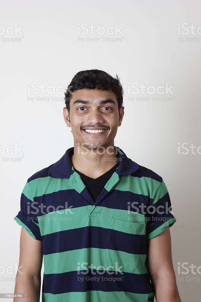 Indian youth royalty-free stock photo