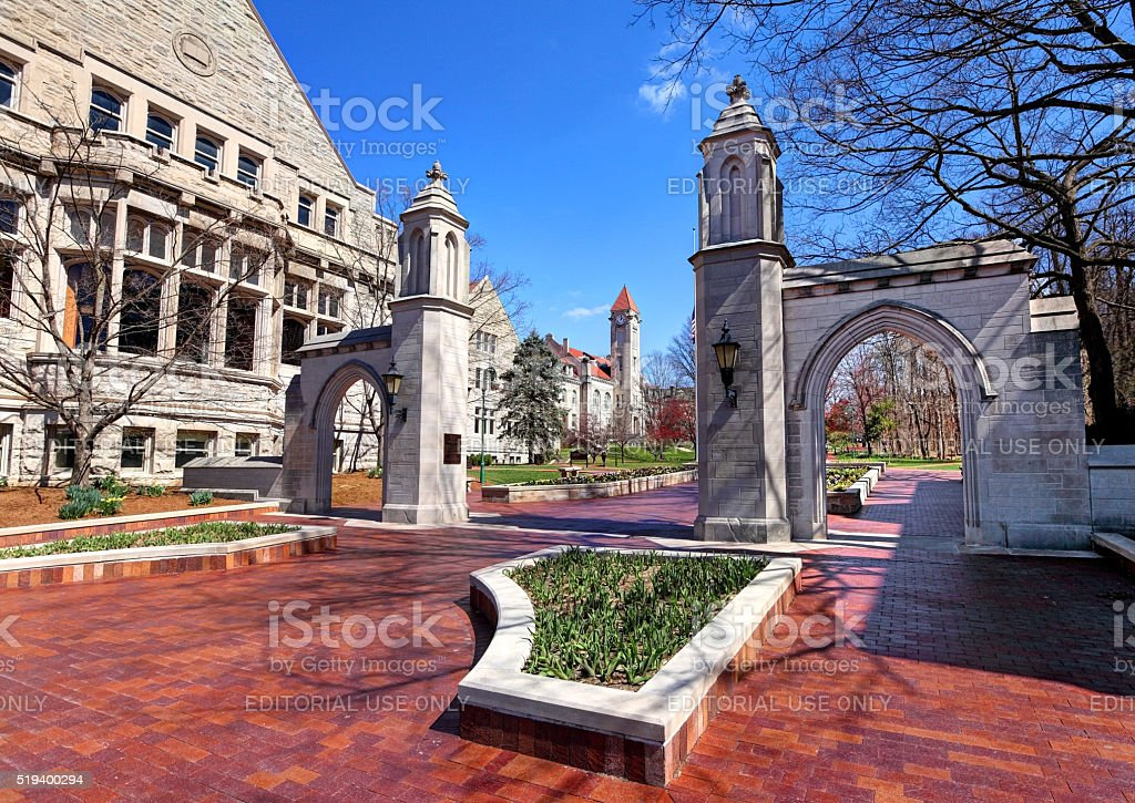 Indiana University stock photo
