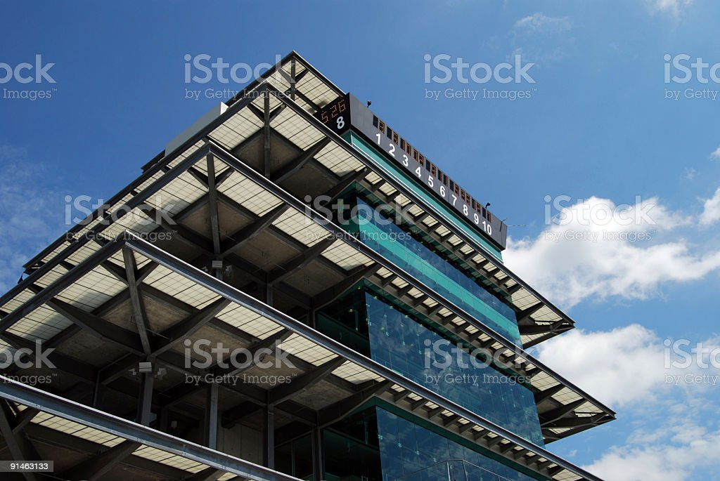 Indianapolis Motor Speedway Pagoda stock photo