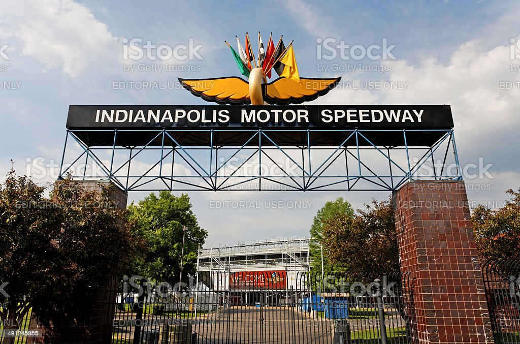 Indianapolis Motor Speedway stock photo