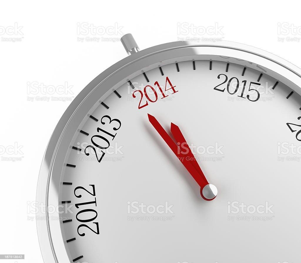 indicator - 2014 stock photo
