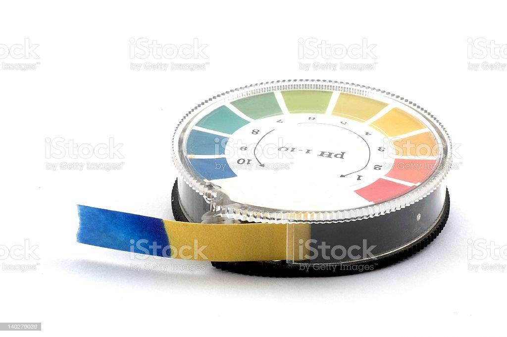 Indicator Paper stock photo