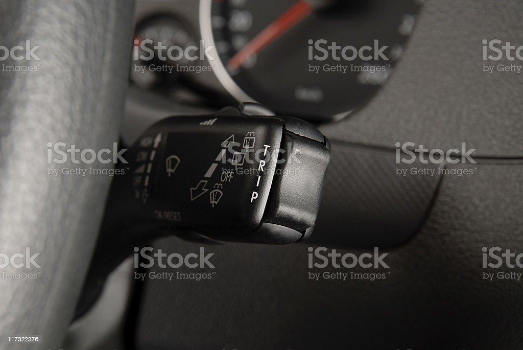 Indicator Stalk Switch stock photo