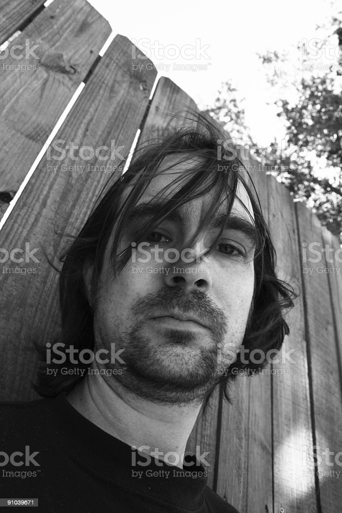 Indie Guy Portraits stock photo