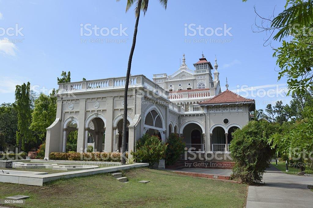 Indien, Pune, Aga Khan Palace stock photo