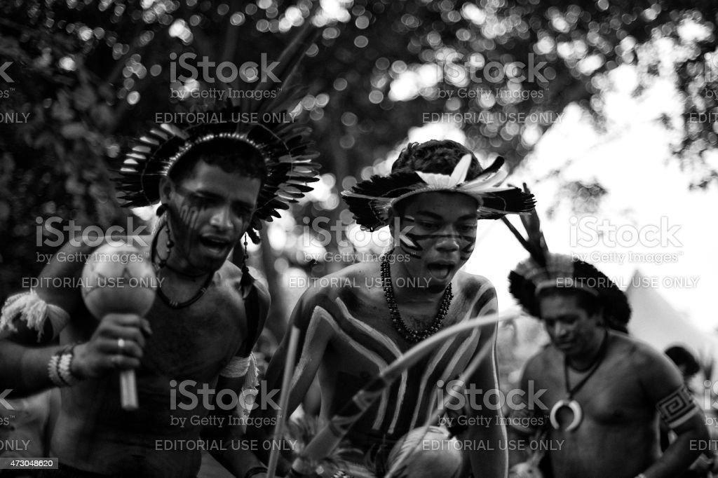 Indigenous stock photo