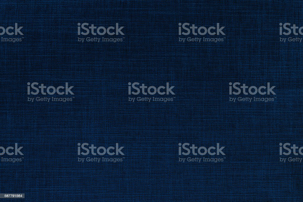Indigo color nature woven texture background stock photo